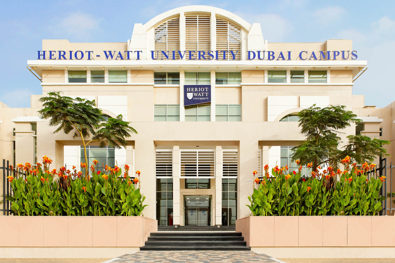 Study on campus in Dubai, Heriot-Watt University